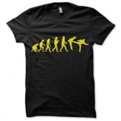 tee shirt  evolution chuck...
