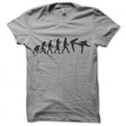 tee shirt gris chuck norris...
