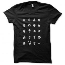 Cinemask t-shirt in black...
