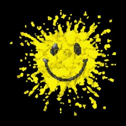 Tee Shirt Smiley  sublimation