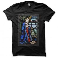Tee Shirt virgin Marie black sublimation
