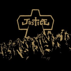 Justice shirt in black sublimation