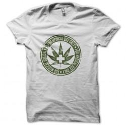 medical marijuana t-shirt white sublimation