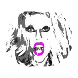 Tee Shirt Lady Gaga white...