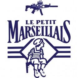t-shirt le ptit marseillais...
