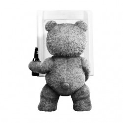 tee shirt ted qui pisse...