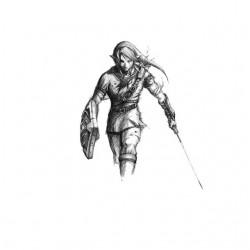 TeeShirt Zelda Drawing Link...