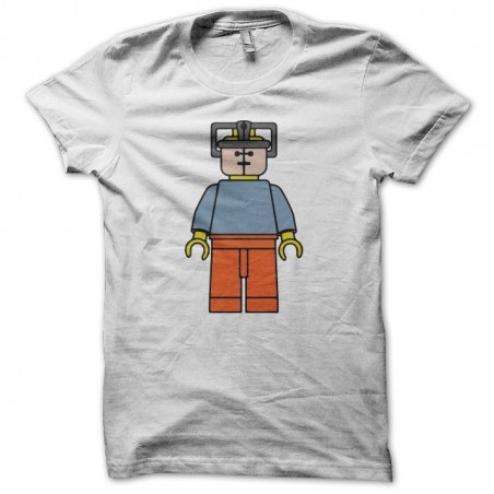 Tee shirt Hannibal Lecter parody Lego white sublimation