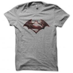 tee shirt gris batman vs...