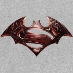 gray shirt batman vs superman sublimation
