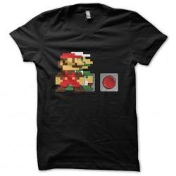 tee shirt  mario bros 1er...