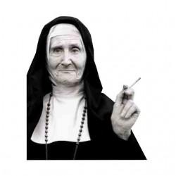 tee shirt le tabac et la religieuse  sublimation