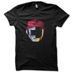 tee shirt black daft punk...