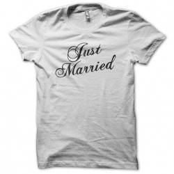 Just Married White...