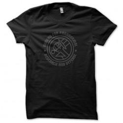 tee shirt bureau du paranormal hellboy recherche et defense  sublimation