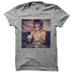 tee shirt bruce lee aux...