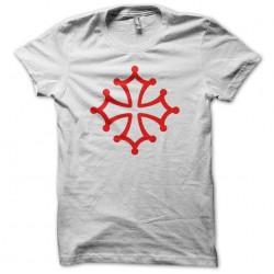 Occitan cross red tee shirt...