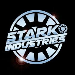 T-shirt Stark Industries Chrome Black sublimation
