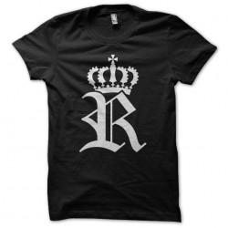 T-Shirt Royal R White black sublimation