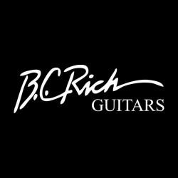 BC Rich White T-Shirt on...