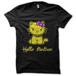Hello Panthoo T-Shirt black sublimation