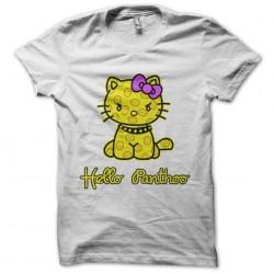 Hello Panthoo T-Shirt white sublimation