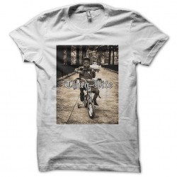 thug life t-shirt in white sublimation