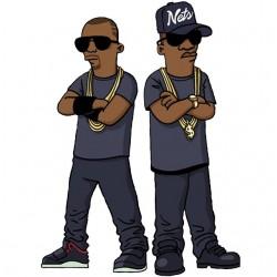 tee shirt Jay and Kanye...