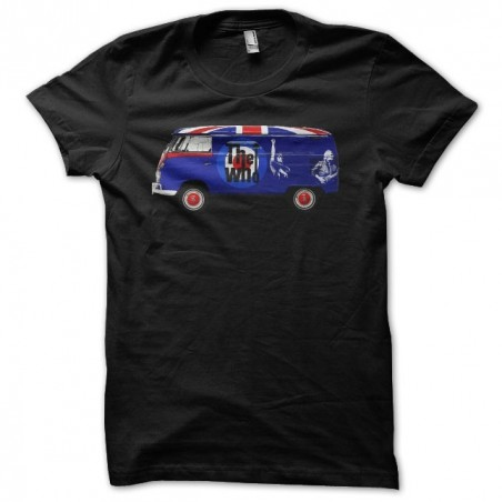 Volkswagen the who black sublimation t-shirt