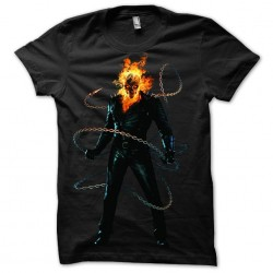 Ghost Rider t-shirt chains...