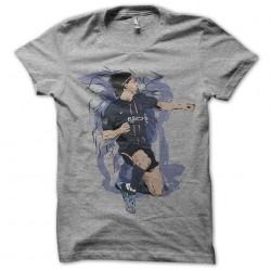 t shirt zlatan ibrahimovic artistic gray sublimation