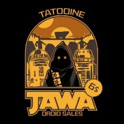 t-shirt jawa droid sales tatooine black sublimation