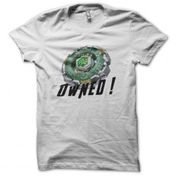 Beyblade Toupie T-shirt Fang Leone white sublimation