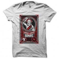 tee shirt jesus love gamers...