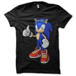 T-shirt Sonic black...