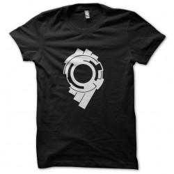 tee shirt Millennium Falcon black sublimation