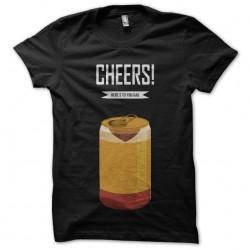 tee shirt cheers here s to...