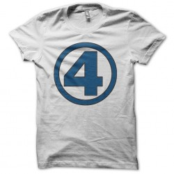 shirt number 4 of the fantastics white sublimation