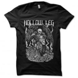 hollow leg t-shirt black...