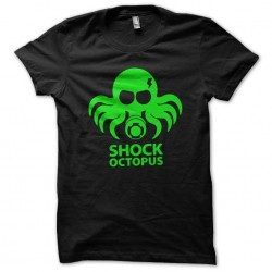 shock octopus t-shirt black...