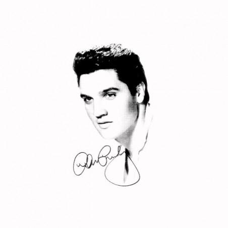 Elvis Presley T-Shirt Signature White Sublimation
