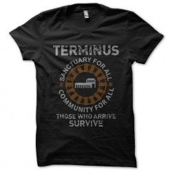 t-shirt walking dead...