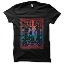 t-shirt zelda stained glass...