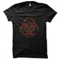 Biohazard t-shirt Black...