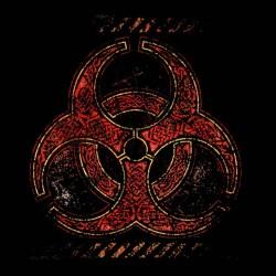 Biohazard t-shirt Black sublimation symbol