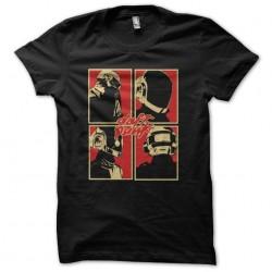 tee shirt daft punk logo...