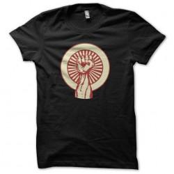 t-shirt fist black sublimation