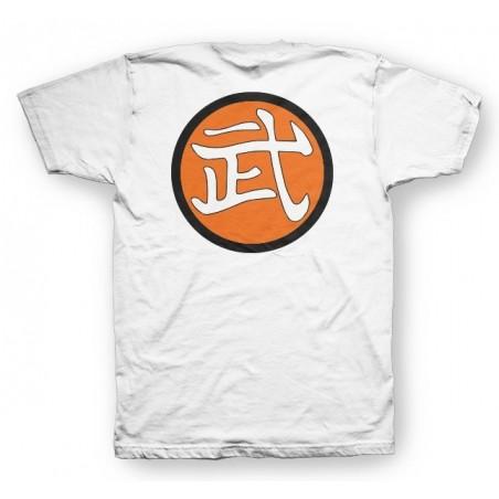 Symbol Master Mutaito's T-shirt white kanji sublimation