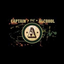 tee shirt captain alcohol...
