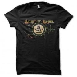 t-shirt captain alcohol black sublimation